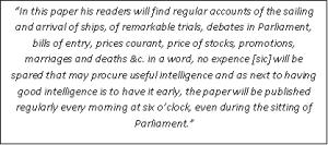 Parliament - block quote