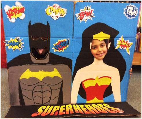Super Hero posing 2