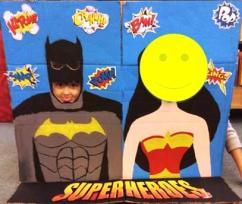 Super Hero Posing 4
