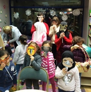 Showing our masks