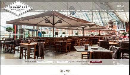 MI+ME Restaurant, Kings Cross, St Pancras