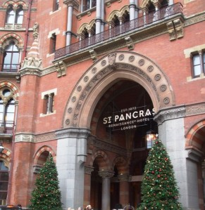 St Pancras Station, Renaissance Hotel, London