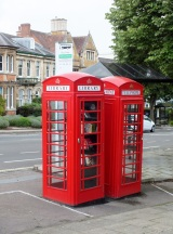 Phone boxes and microlibraries