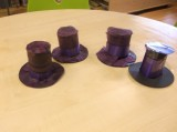 Willy Wonka hats: how cute are these!