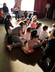 Chocolate event with Canela Fina! at Brompton Library, February 2017