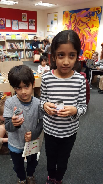 Plant Potters activity at Brompton Library