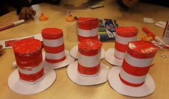 Dr Seuss activity at Kensal Library, March 2017