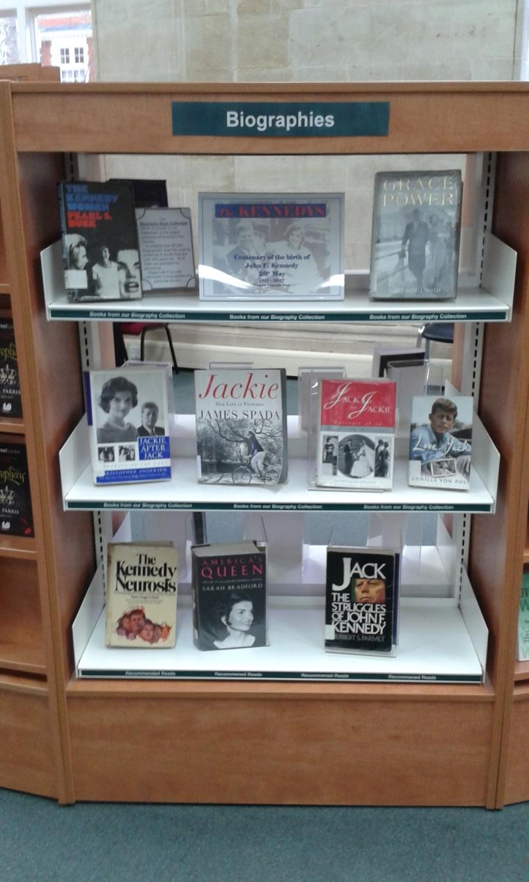 JFK display