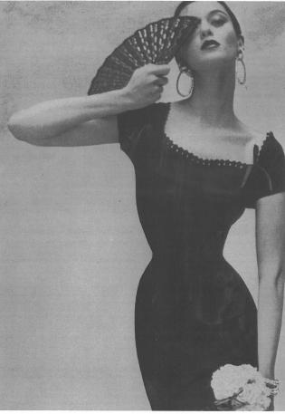 Barbara Mullen Vogue, 1953